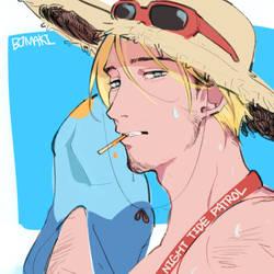 Summer mccree by BJMAKI