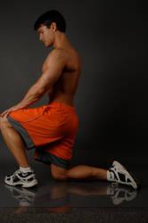 Jason Baca leg stretch a1 by jasonaaronbaca