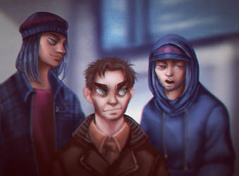 [ HUMANIZED ] their faces tho.. by SofiaMarshall