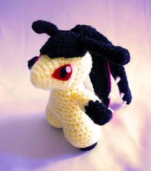 Mawile Pokemon Amigurumi by yarnmon