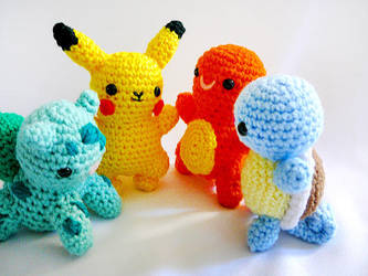 All the Pokemons by yarnmon