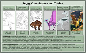 Commission Pricing by Teggy