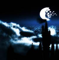 RWBY Moon over Beacon by calibur222