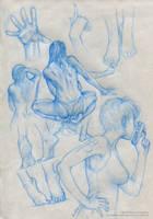 Sketches V by Marcianek