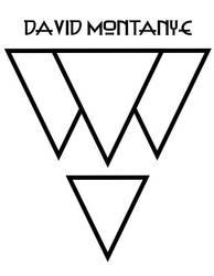 David Montanye logo design by MallonIllustration