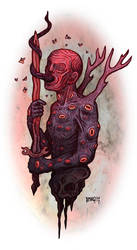 blood wight by MallonIllustration
