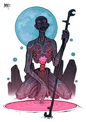 the diviner by MallonIllustration