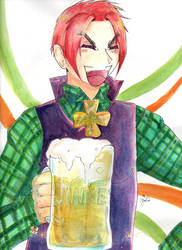 How Would Ireland Be In Hetalia...? by MyPresenceEuphoria