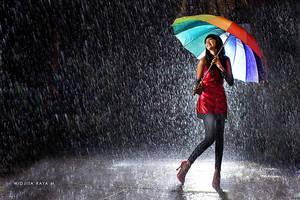 Rain with Love by widjita