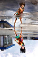 mirror mirror on the floor by widjita