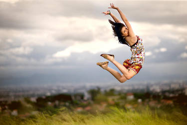 I can Fly by widjita