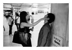 shibuya interaction by SimonSawSunlight
