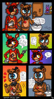 Out Of Order - A FNaF Comic - Ch. 1 P. 4 by Spacecat-Studios