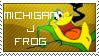 Michigan J. Frog Stamp by pEnELoPe3six