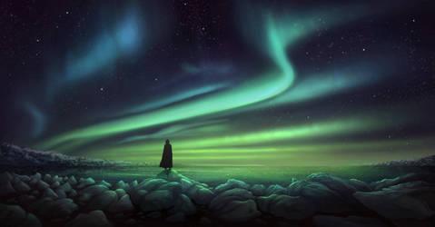 Painted sky by PytonPyton