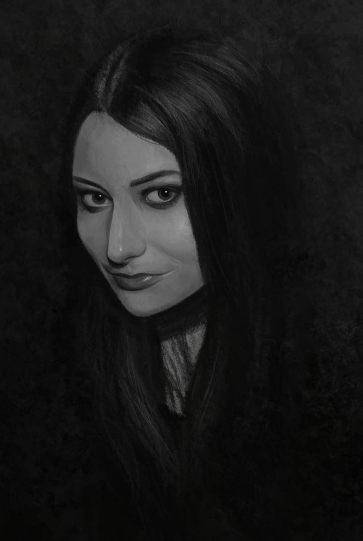 Self-portrait by PytonPyton