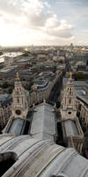 Vertical London Panorama by maikarant