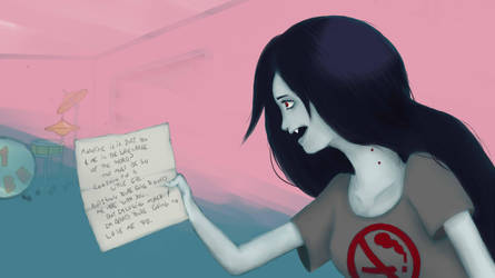 Marceline - I Remeber You (screenshot redraw) by Jacinda-C