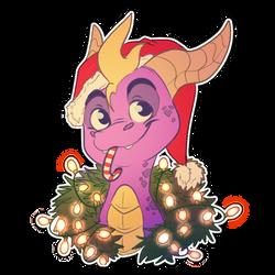 [spyro] christmas is coming by WandererTamplior