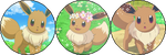 Eevee [Divider] (Request) by I-Stamps