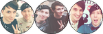 Dan and Phil [Divider] (Request) by I-Stamps