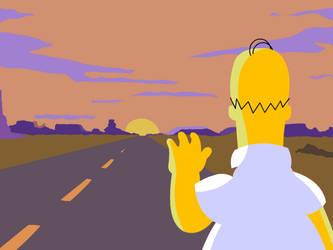 Homer Jay Simpson by NargandIren
