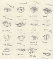 Eyes by petitevipere