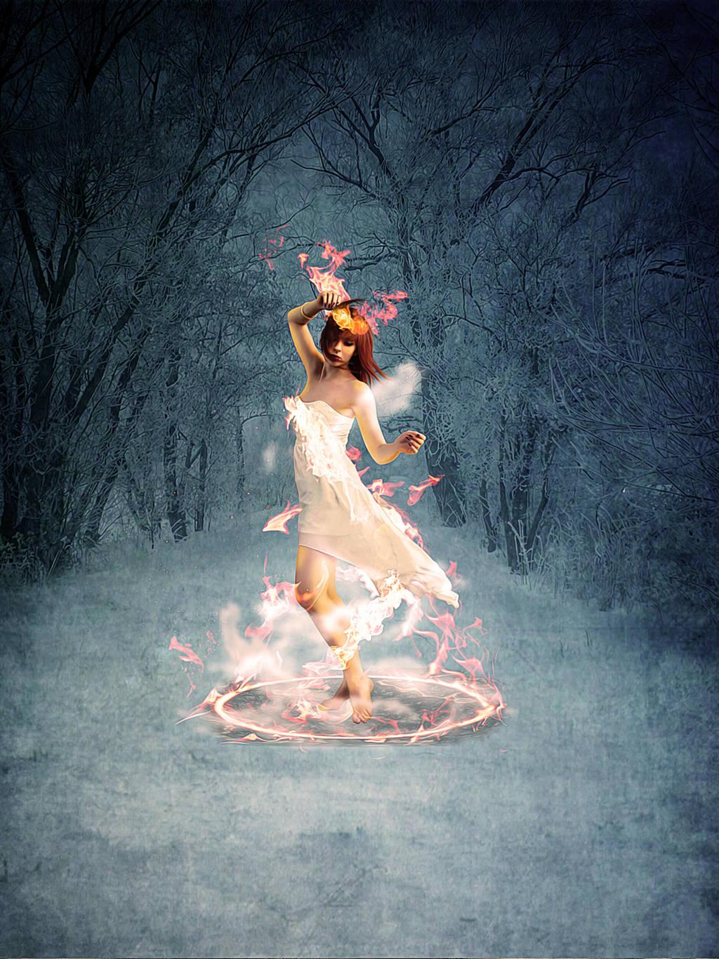 Pyro Fairy by denzleah