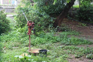 Old water pump  stock by denzleah