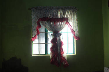 Curtain/Window stock by denzleah