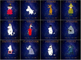 Moomin Horoscop by AlexxLefty