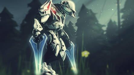 Halo Elite wallpaper. by Recon-Rival