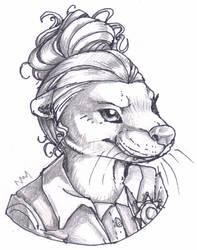 GO Commission: OT Otter by SadWhiteRaven