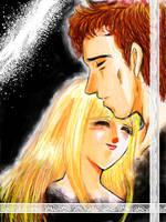 embracement -Samus+Adam by tamako-grace