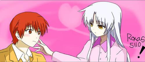 Tenshi and Otonashi by Roxas5110