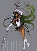Eternal Sailor Pluto by Tomecko