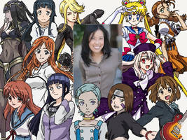Character Compilation: Stephanie Sheh by Melodiousnocturne24