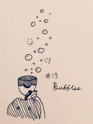 Day 13: Bubbles by MrsEveTwo