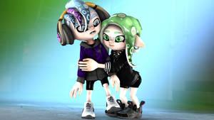 Hug for Kei by MaekaENDERFOX35
