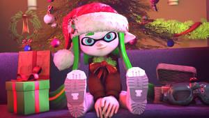 Merry Christmas ! by MaekaENDERFOX35