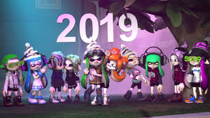 Happy new year 2019 ! by MaekaENDERFOX35