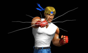 Axel Punch by DarkKso