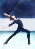 Yuri Katsuki ~ Yuri On Ice ~ Fanart by balvana