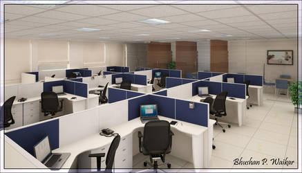 workstation by waikar3d