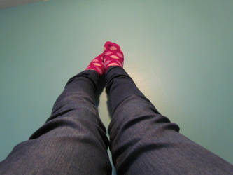 Legs and Fuzzy Socks by Icicles-On-Jupiter