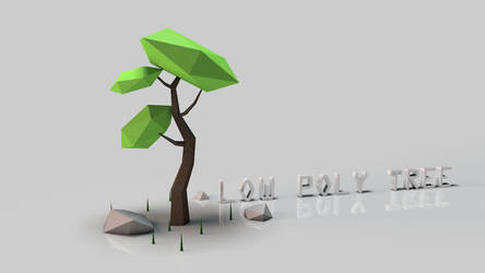 Low Poly Tree by MikNal117