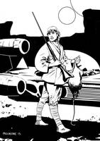 Luke Skywalker womprat for supper by Paul-Moore