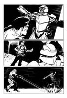 Superhero strip page 2 by Paul-Moore