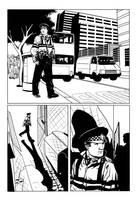 Superhero strip page 1 by Paul-Moore