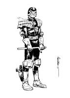 Old Joe Dredd by Paul-Moore